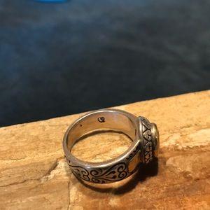 Brighton Jewelry - Sterling Silver Brighton Ring With Citrine